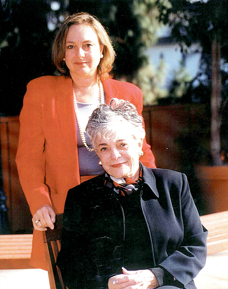 Phyllis Shamberg and Beth Devermont